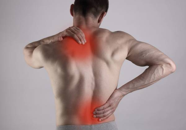 how to cure a back pain at home